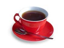 Red cap of tea Royalty Free Stock Image