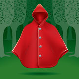 Red cape Royalty Free Stock Image