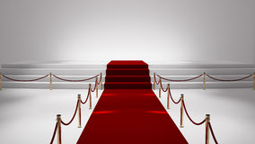 Red capet Stock Photos