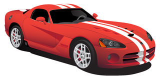 Free Red Car Royalty Free Stock Photo - 10655885