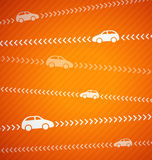 Car abstract background with stripes Royalty Free Stock Photos