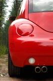 Red car back