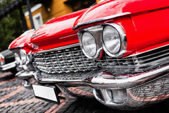 Red car Stock Images