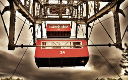 Red, Car, Cable Car, Vehicle Stock Image