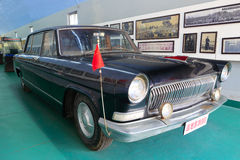 Red car of chairman mao in museum, amoy, china Royalty Free Stock Images