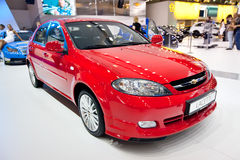 Free Red Car Chevrolet Lacetti Royalty Free Stock Photography - 19702087