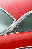 Red car detail Royalty Free Stock Photography