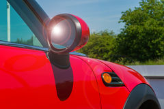 Red car details Royalty Free Stock Images