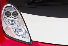 Red Car headlight Royalty Free Stock Photos