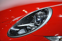 Red car  headlight Stock Image