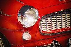 Red Car Headlight Royalty Free Stock Photography