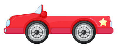 A red car Royalty Free Stock Photos