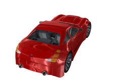 Red Car Stock Image