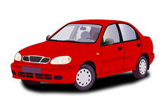 Red car. Royalty Free Stock Photo