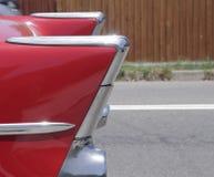 Red Car Rear Stock Photos