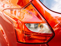 Red Car Rear Light. View Stock Photos