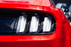 Red Car Stop Rear Light. View Stock Photography