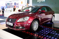 Red car Suzuki  Kizashi Stock Image