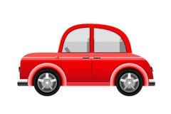 Red car, vector Royalty Free Stock Photos