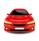 Red car. Stock Image