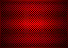 Red carbon background Stock Images