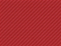 Red carbon fiber Royalty Free Stock Images