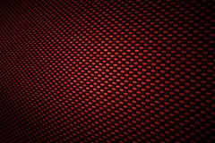 Red carbon fiber background Royalty Free Stock Photo