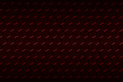 Red carbon fiber hexagon pattern. Background and texture. 3d illustration Royalty Free Stock Photos