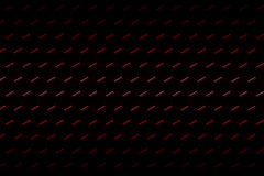 Red carbon fiber hexagon pattern. Background and texture. 3d illustration Royalty Free Stock Photography