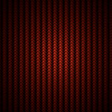 Red carbon fiber weave background. A realistic red carbon fiber small weave close-up background or texture Stock Image