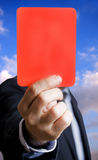 Red card Royalty Free Stock Images