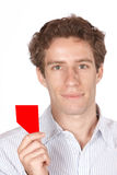 Red card Stock Photography