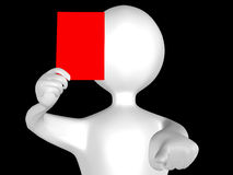 Red card Stock Photos