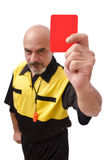 Red card! Stock Images