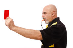 Red card! Royalty Free Stock Photo