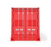 Red Cargo Container Royalty Free Stock Image
