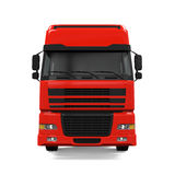 Red Cargo Delivery Truck Stock Images