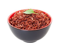 Red Cargo Rice Royalty Free Stock Photo