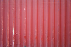 Red cargo ship container texture Stock Photos