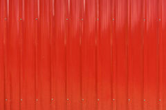 Red cargo ship container texture Royalty Free Stock Photo