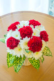 Red Carnation bouquet Stock Image