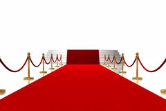 The Red Carpet Stock Photos