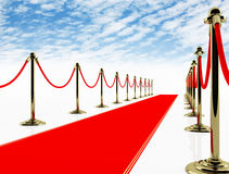 Red carpet. Stock Image