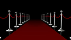 Red Carpet. For your celebration concept Stock Photo