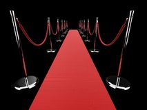 Red carpet Stock Photos