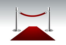 Red Carpet royalty free illustration