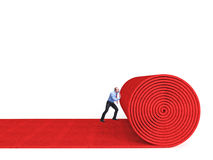 Red carpet Stock Image