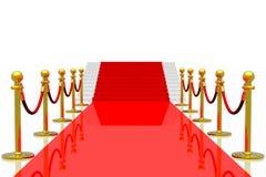 Red carpet Stock Image