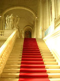 Red carpet. Up stairs Royalty Free Stock Images