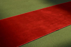 Red carpet. Along the way Royalty Free Stock Image